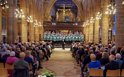 'Three Choirs' concert in Wakefield Cathedral, Saturday April 29th 2017